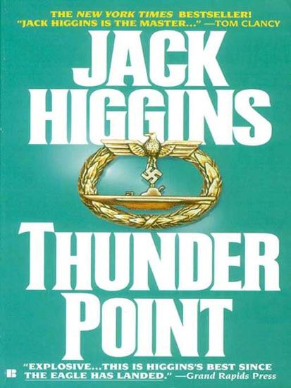Thunder Point by Jack Higgins PDF Download