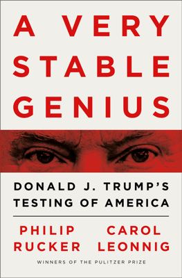 A Very Stable Genius - Philip Rucker & Carol Leonnig pdf download