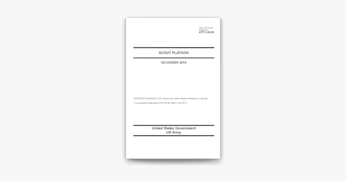 Army Techniques Publication ATP 3-20.98 Scout Platoon