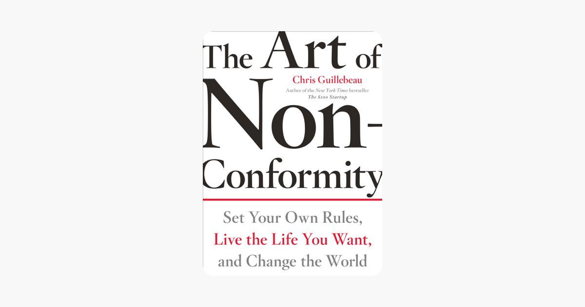 The Art of Non-Conformity on Apple Books