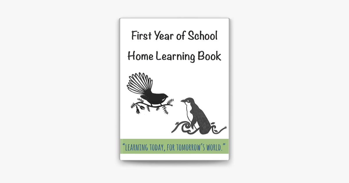 First Year of School Home Learning Book on Apple Books