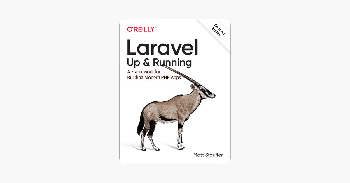 Laravel: Up & Running on Apple Books
