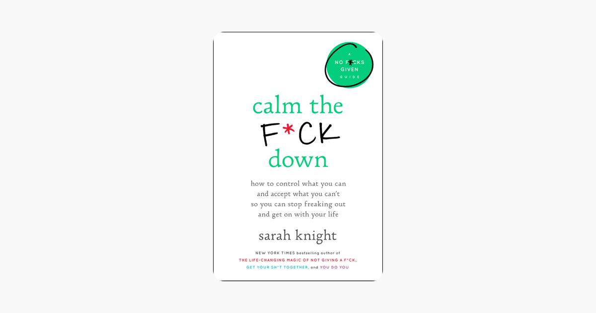 Calm the F*ck Down on Apple Books