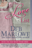 Deb Marlowe - The Love List  artwork