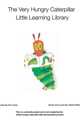 The Very Hungry Caterpillar Library Books 1.1 - Eric Carle