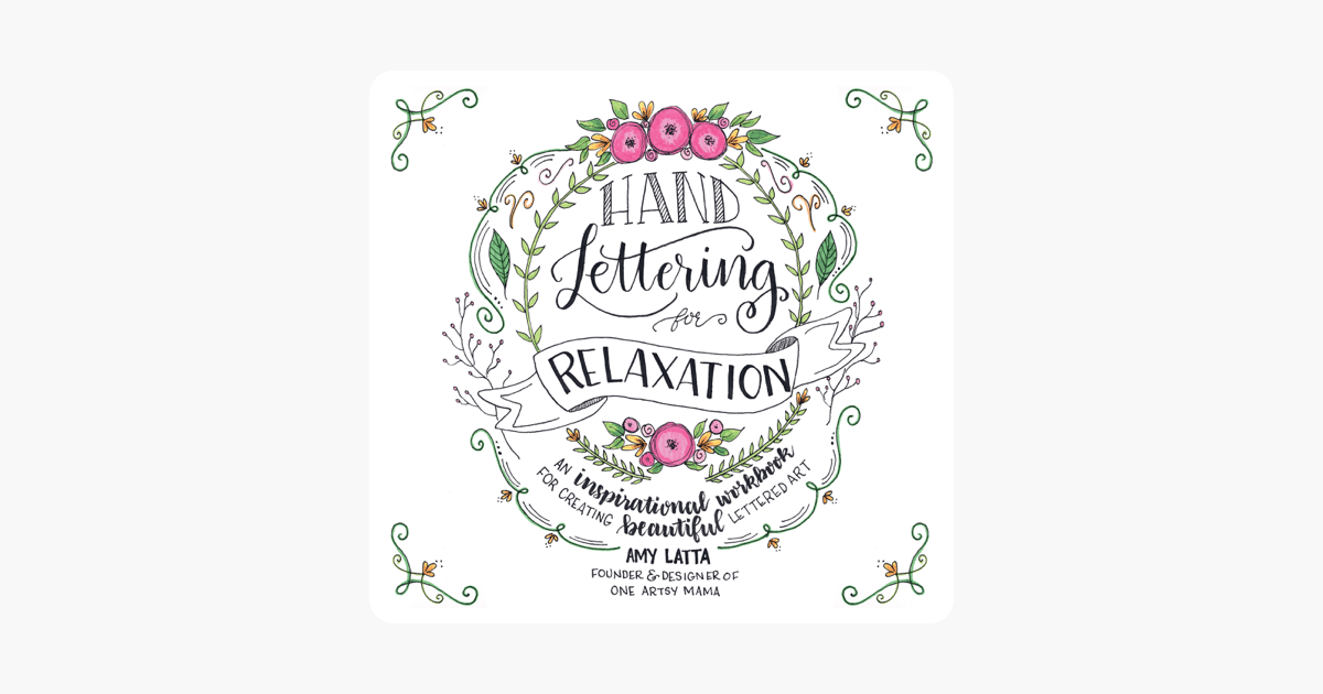 Hand Lettering for Relaxation on Apple Books