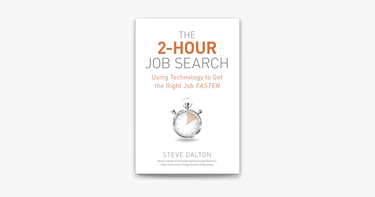 ‎The 2-Hour Job Search on Apple Books