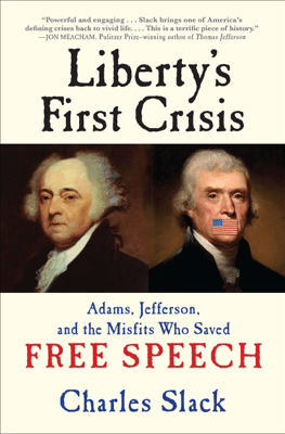 Liberty's First Crisis - Charles Slack pdf download