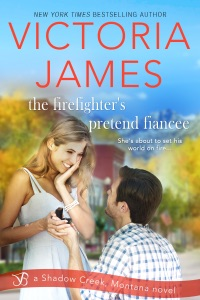 The Firefighter's Pretend Fiancee - Victoria James pdf download