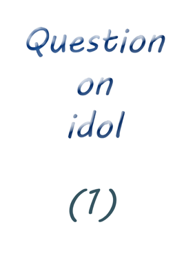 Question on Idol (1) - Farah Solomon