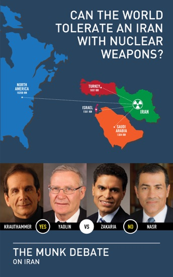 Can the World Tolerate an Iran with Nuclear Weapons? by Amos Yadlin, Charles Krauthammer, Fareed Zakaria, Vali Nasr & Rudyard Griffiths PDF Download