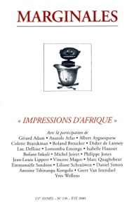 Impressions d'Afrique - Collectif pdf download