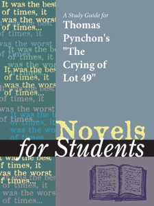 A Study Guide For Thomas Pynchon's