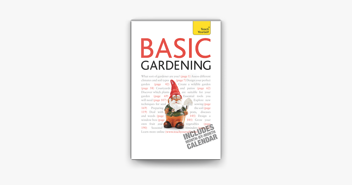 Basic Gardening on Apple Books