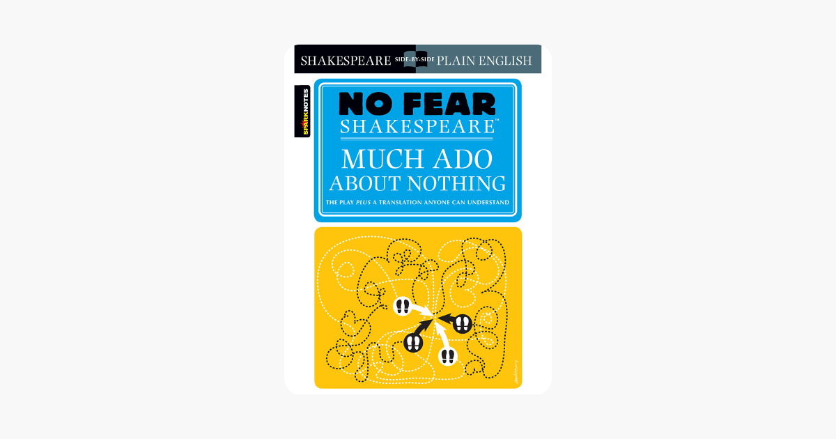 Much Ado About Nothing No Fear Shakespeare on Apple Books