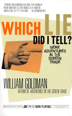 Which Lie Did I Tell? - William Goldman pdf download