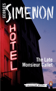 The Late Monsieur Gallet - Georges Simenon & Anthea Bell pdf download