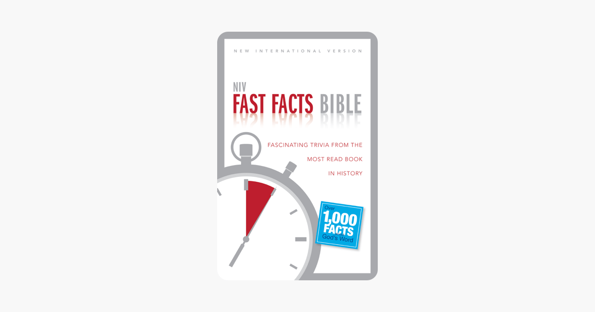 NIV, Fast Facts Bible, eBook on Apple Books