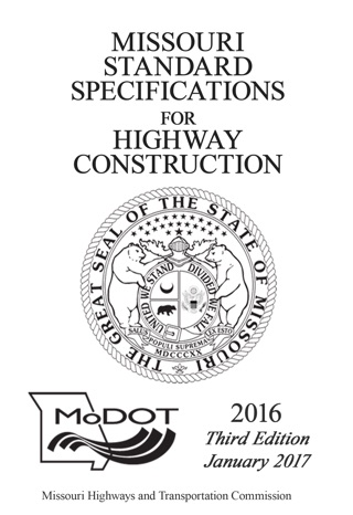 2011 Missouri Standard Specifications for Highway
