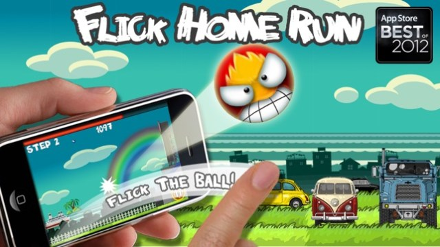 Flick Home Run ! Screenshot