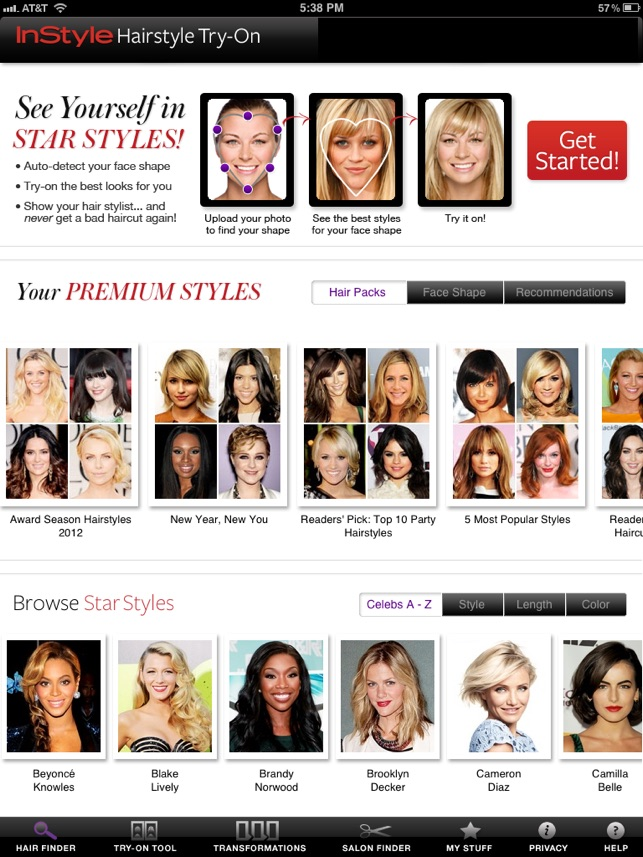 Instyle Hairstyle Try On : instyle, hairstyle, InStyle, Hairstyle, Try-On, Store