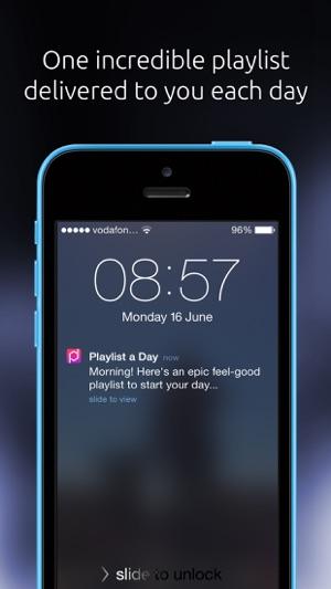 Playlist a Day Screenshot