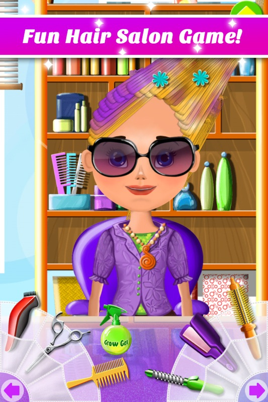A Haircut Game : haircut, Salon, Makeover, Curl,, Color,, Style, Online, Cheat, Gehack.com