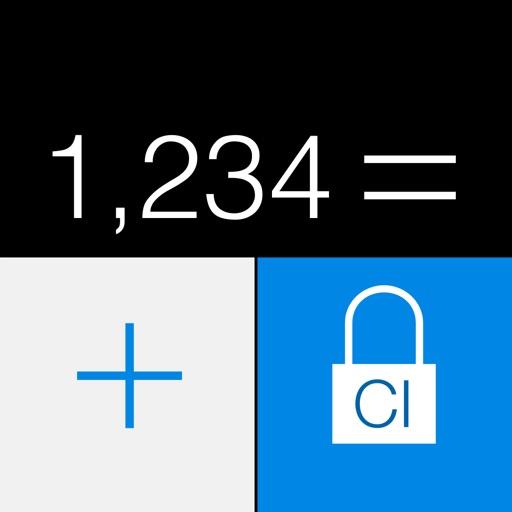 secret calculator icon safe