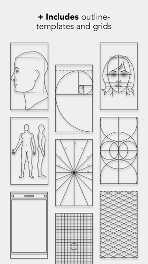 Drawing Grid & Outline Tracing by Myvinchy on the App Store