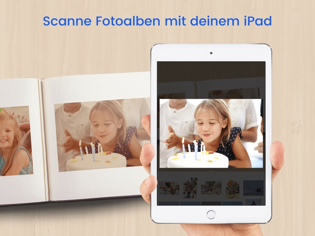 Foto Scanner Pro: Scanne Alben Screenshot