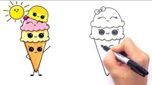 draw foods easy drawings cream ice le angia toan nguyen fun kaynak pl google