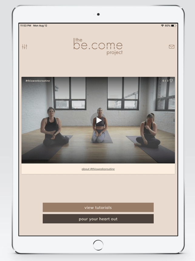 the be.come project Screenshot