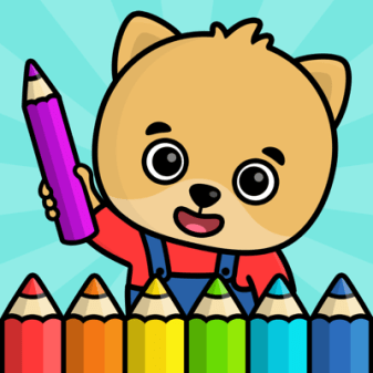 Baby coloring book for kids 2+ ➡ App Store Review ✅ ASO ...