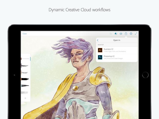 Adobe Photoshop Sketch Screenshot