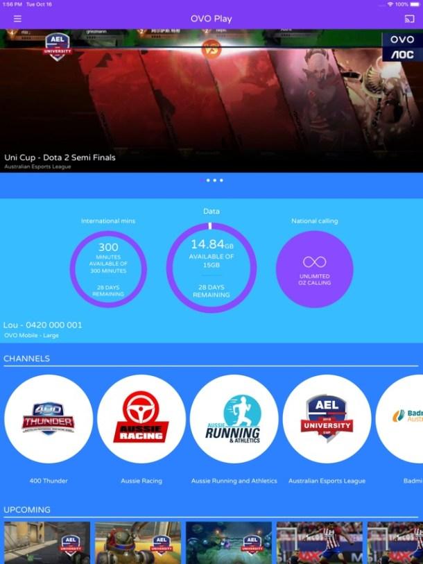 OVO: Live Streaming + Mobile Screenshot