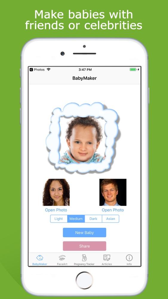 Make A Baby Face Generator Free : generator, Maker, Generator, IPhone, Download, AppPure