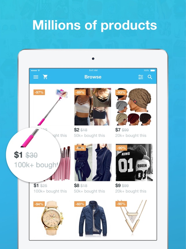 ‎Wish - Shopping Made Fun Screenshot