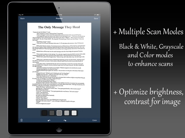 Fast Scanner : PDF Doc Scan Screenshot