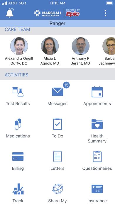 Uc Health Mychart : health, mychart, Marshall, MyChart, Davis, Health, (iOS,, United, States), SearchMan, Information