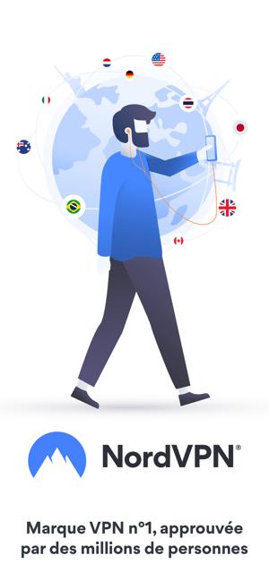 VPN Rapide et illimité NordVPN Capture d'écran