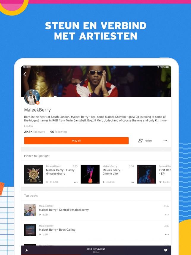 SoundCloud - Muziek & Audio Screenshot