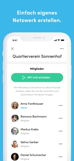 Five up – Connect your help Screenshot