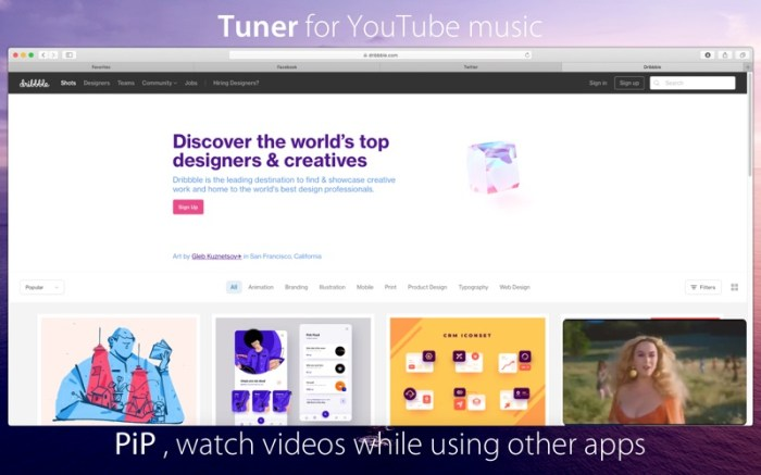 Tuner for YouTube music Screenshot 04 1353w1n