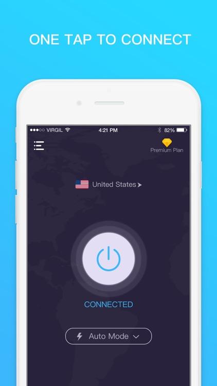 VPN for iPhone - Unlimited VPN by Mobile Jump Pte Ltd