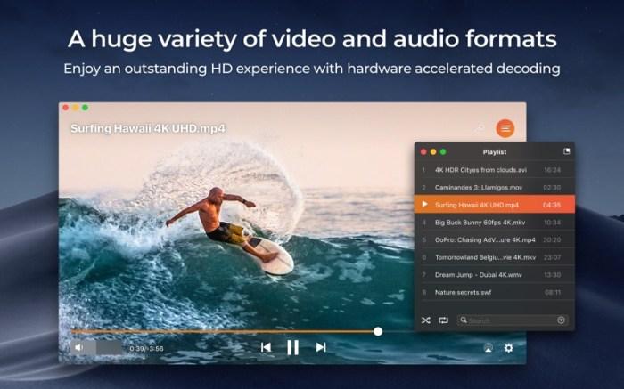 Elmedia:universal video player Screenshot 01 13a4win