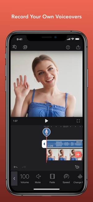‎Enlight Videoleap Video Editor Screenshot