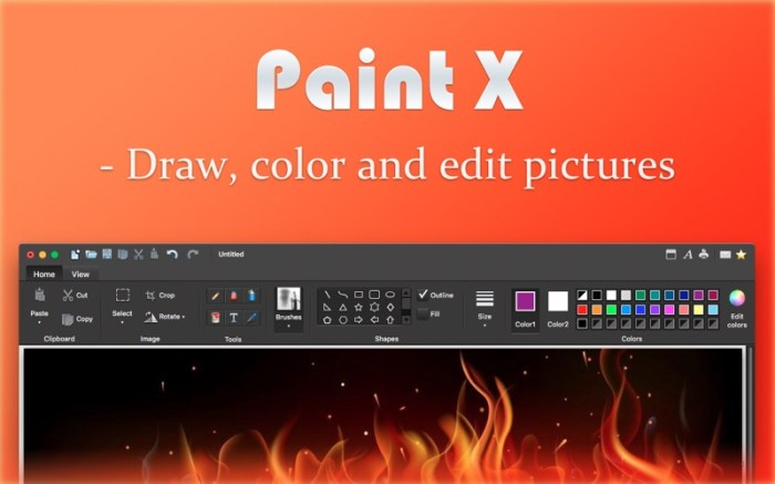 Paint X - Paint, Draw and Edit Screenshot 01 13at2wn
