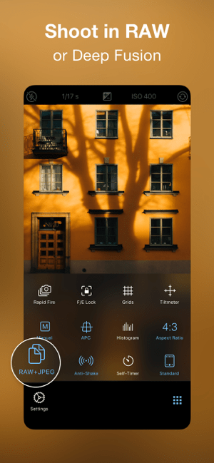 ProCamera. Pro Photo & Video Screenshot