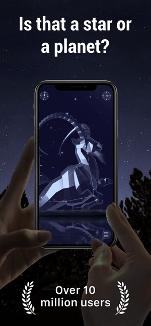 ‎Star Walk 2 Ads+:Night Sky Map Screenshot