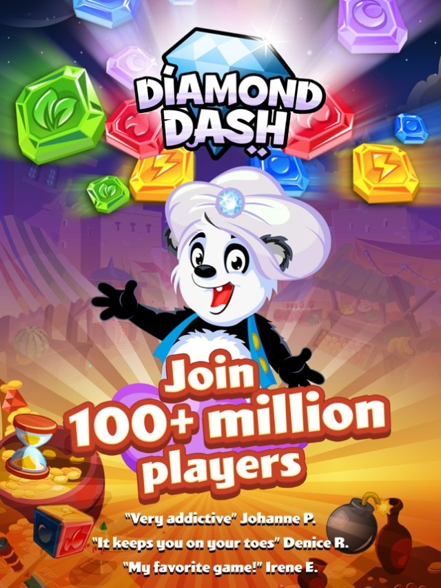 Diamond Dash: Gem Puzzle Game Screenshot